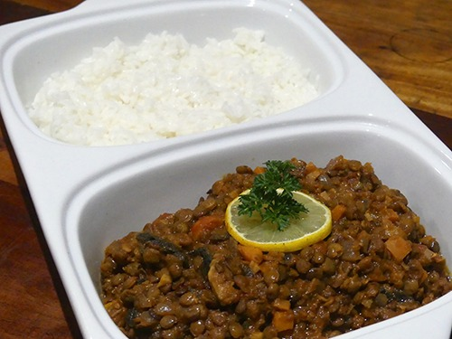 Gingered Green Lentil Curry Kit