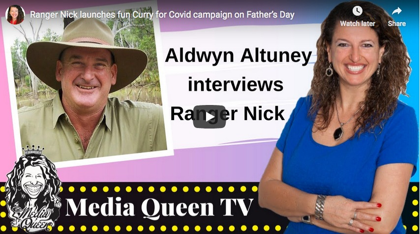 Media Queen interviews Ranger Nick