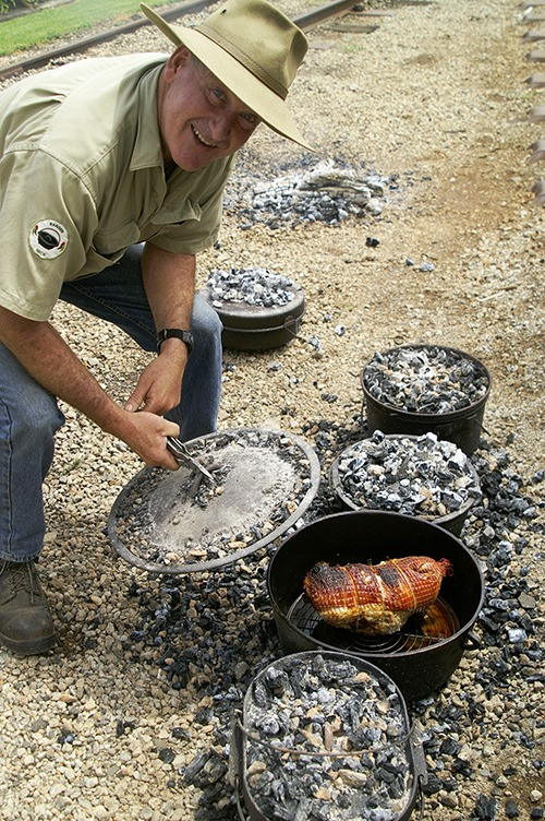 Ranger Nick Camp Oven Cook